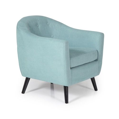 Ocassional Evie Duck Egg Occasional Chair